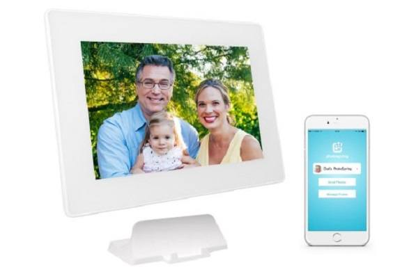 PhotoSpring 10in WiFi Digital Photo Frame